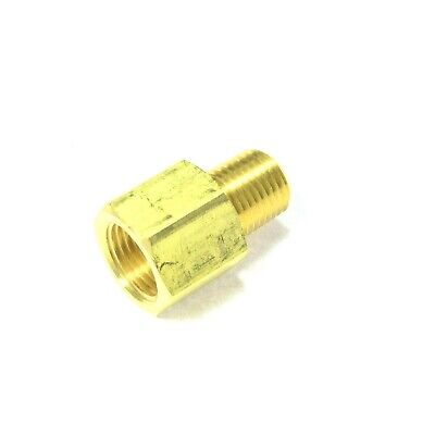 SAE 45 Female Flare Male Pipe Adapter 3/8 Tube OD FFL x 1/4 Male NPT MPT Fitting