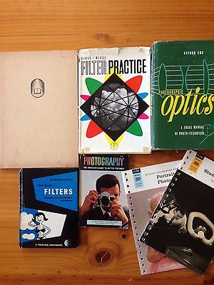 Bulk Lot Of 7 Vintage Photography Reference Books