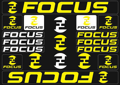 Focus Mountain Bicycle Frame Decals Stickers Graphic Adhesive Set Vinyl Purple