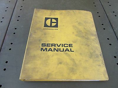 Caterpillar 3304 3306 Engine Service Shop Manual Cat