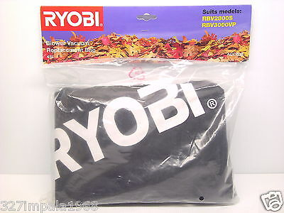 RYOBI 45L Replacement Blower Vacuum Bag ACC-038 Suits RBV-2800S RBV-3000VP