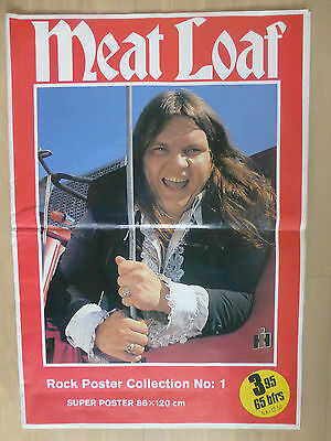 Meat Loaf - Supersize  Dutch  Poster 1978 ( 86 X 120 Cm/ 34 X 47 Inch