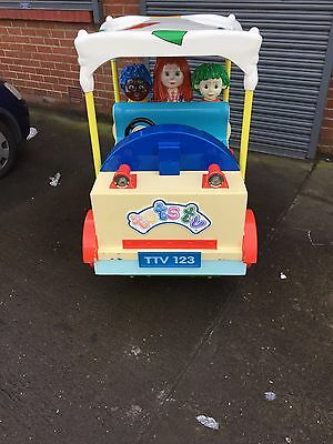 Tots Tv Car Bus Childrens Kiddie Ride Machine Coin Operated - Kids - Kiddy