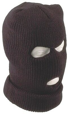 Balaclava Black Knit Spook Face Mask Fishing Motorcycle Winter Hat Neck Warmer