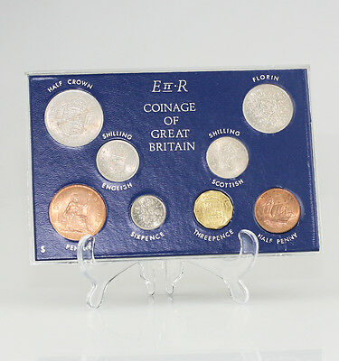 1966 Coinage Royal Mint UNC Coin Set in Case - Birthday Pressie? (FZ10)