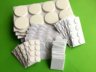 8x SELF ADHESIVE FLOOR,FURNITURE,CHAIR LEGS ANTI SCRATCH PROTECTOR STICKY PADS