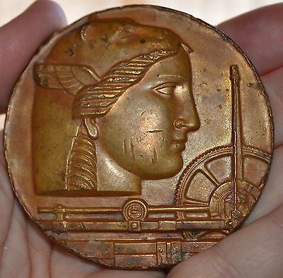 Rare Deco Medallic Art Company 50Th Anv.  Bronze Medal 2 3/4""
