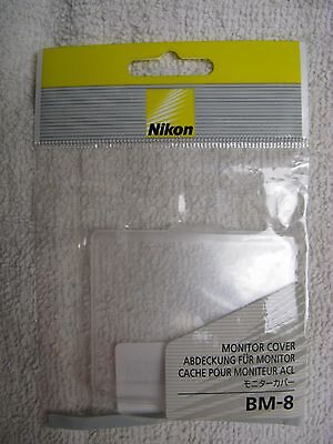 Genuine Nikon BM-8 for D300S & D300 Monitor Cover LCD Screen Protector