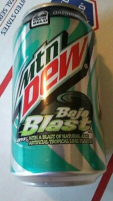 UNOPENED FULL Pepsi Mountain Dew Taco Bell 'Tropical Lime' Baja Blast USA 2014
