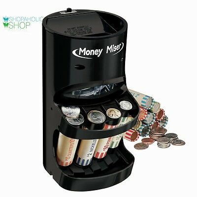 Motorized Coin Sorter Counter Bank Machine Wrapper Counting Sorting New