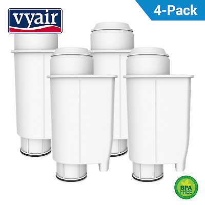 4 Vyair Water Filter Compatible with Brita Intenza+ RI9113/36  Saeco Machine