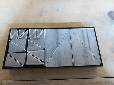 Teco Aluminum Step Blocks  10-pr   #  20802