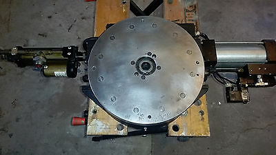 Schrader Bellows - Parker B311-8222-121 Rotary Index Table Pneumatic - Hydraulic