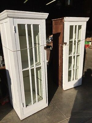 An 48 Matched Pair Antique Built In Bookcases Farmhouse Style Arts And Crafts