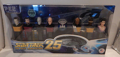 Pez Star Trek 25 The Next Generation Limited Edition Collector's Series New