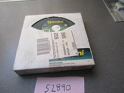 "(1)  NEW, Norton ""Gemini"" Carbide Pedestal Bench Grinder Wheel, 7x1x1"