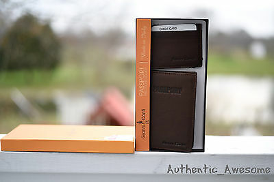Brand New In Box Gianni Conti Passport Holder and Case/ID Wallet Made In Italy