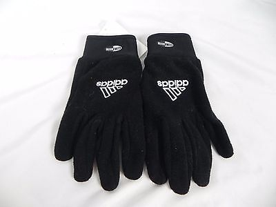 NEW Adidas Women's Black Fleece Climalite Winter Gloves With Grips (S1-35)