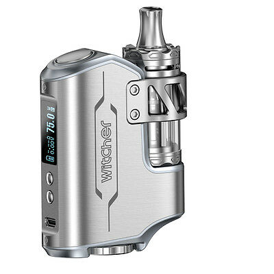 Original Witcher 75W Mod Vaping Kit-75W,5.5ml Tank,3 Coils,Overheat Protection