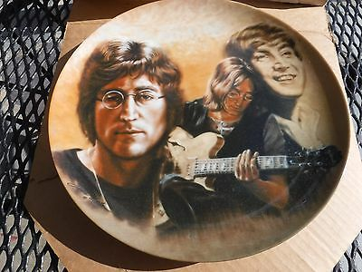 John Lennon commemoratives # 6568 -limited edition with certification-PERFECT!