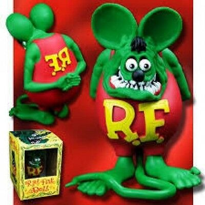 "Never Use! RatFink ☆ figure ☆ MOONEYES  ED ROTH ""BIG DADDY"" unopened"
