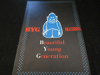 BYG Records Japan Promo Catalog Book Allen Gong Don Cherry Shepp Art Chicago