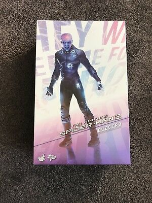 1/6 Scale Hot Toys Amazing Spider-Man 2 Electro Figure. Brand New In Box