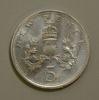 1980 Great Britain 5 Pence