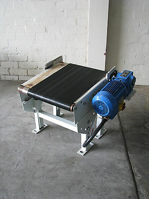 Small Motorised Conveyor - 0.5m long White