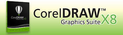 Corel DRAW X8 Full Retail Box ( not academic or upgrade ) - Best design software