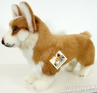 KOSEN Made in Germany NEW Welsh Corgi Dog Plush Toy