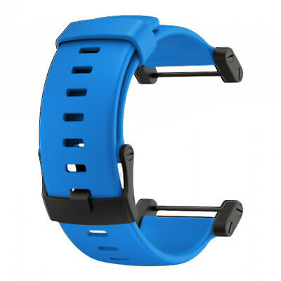 Suunto Core Blue Silicone Watch Strap (152400) with GEN SUUNTO WARR