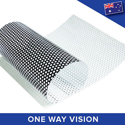 One Way Vision Perforated Printable Vinyl Vehicle Car Privacy Film  ONEWY
