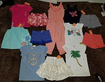 NWT Size 5/6 5T Lot of Summer Clothes Girls Oitfits Gymboree jungle