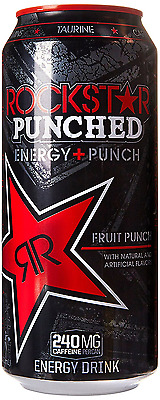 Rockstar Punch Energy Drink, 16-Ounce Cans (Pack of 24)