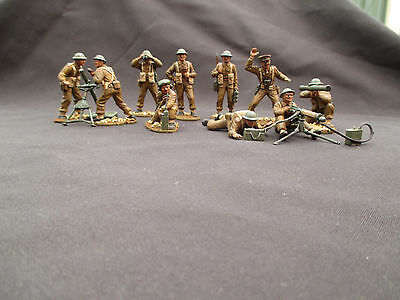 Airfix  1/32 British infantry support  WW2 pro painted collectables