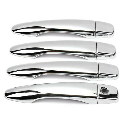 Door Handle Cover For Nissan X-Trail Qashqai Rogue 2014 2015 2016 Chrome Trim