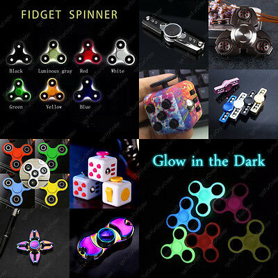Tri-Spinner Figet Spinner Hand Finger Bar Pocket Desk Focus Handmade Toys Game