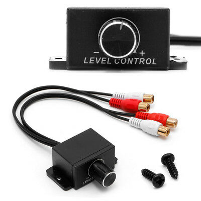 New Universal Car Audio Amplifier Bass RCA Level Remote Volume Control Knob LC-1