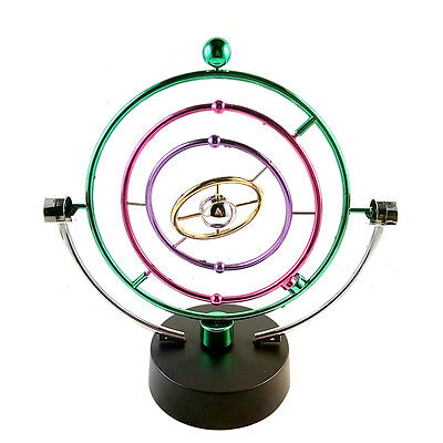 Colorful Cosmos Revolving Perpetual Motion Machine Home office artware
