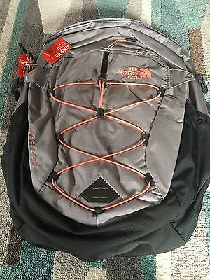 a36bee9182 The North Face Women's Borealis Backpack Dapple Grey Heather/Feather Orange