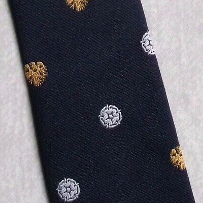 BARCLAYS BANK COMPANY CORPORATE CLUB TIE VINTAGE 1980s YORKSHIRE WHITE ROSE