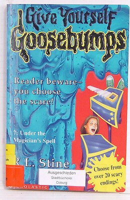 Give Yourself Goosebumps, Under the Magician's Spell, R.L. Stine, englisch