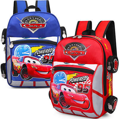 3D Cars School Bag McQueen Printing Backpack Kid Back Pack Boy Girl Bookbag 2017