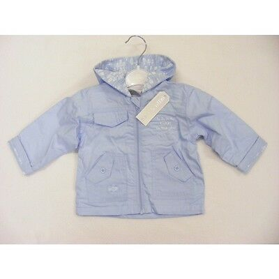 Baby Boys Kris X Kids Baby Blue 'fishes' Jacket New 0-3, 3-6, 6-9 Months (55)