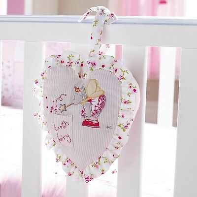 IZZIWOTNOT Humphreys Corner Lottie Fairy Collection - Pink Tooth Fairy Cushion