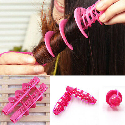 2Pcs Care Beautiful Hair Styling Tool Curl Roller Curler Curling Hair Accessory