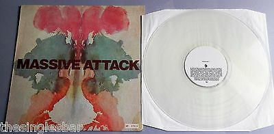 "Massive Attack - Risingson UK 1997 Clear Vinyl Numbered 12"" Single"