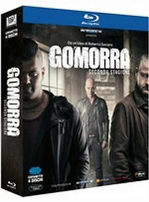 Gomorra - La Serie - Stagione 2 (4 Blu-Ray Disc - ITALIANO ORIGINALE SIGILLATO -