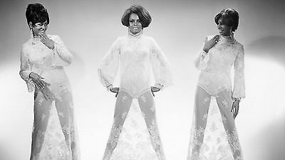 The Supremes Black And White 8x10 Picture Celebrity Print
